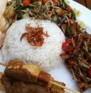 veganized Nasi Campur @Paula´s